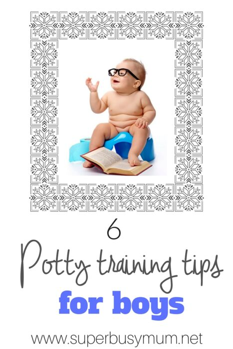 5 Potty Training tips for boys