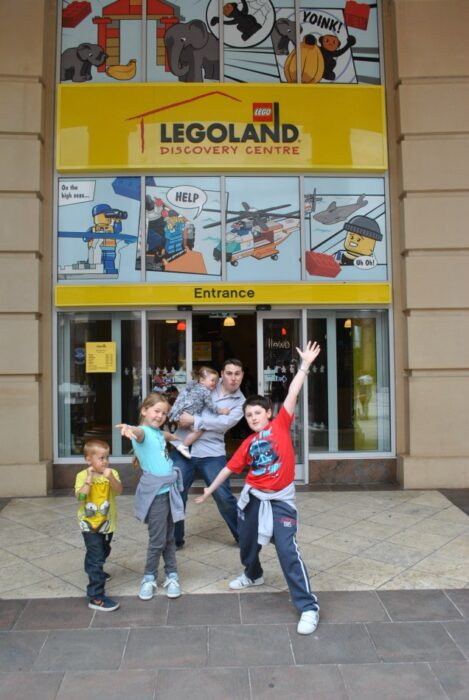 We went to Legoland Discovery Centre with SuperBreak!