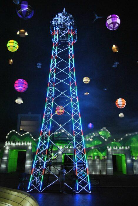Illuminasia Winter Garden Blackpool