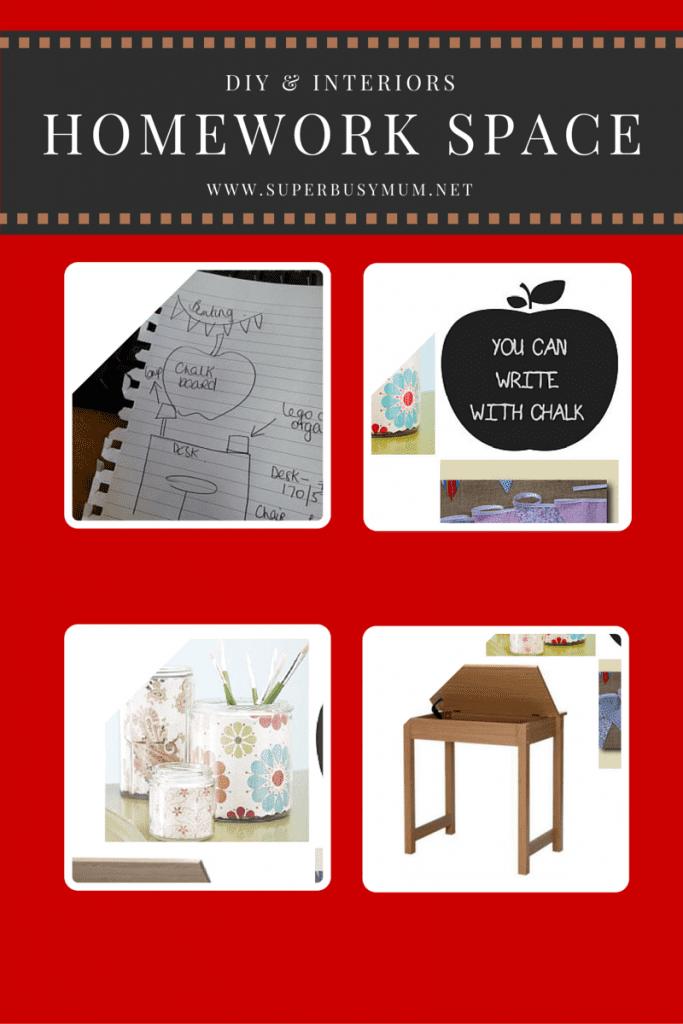 DIY & Interiors: Homework space wish list!