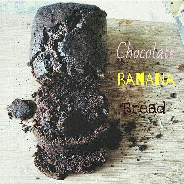 Choc Banana Bread