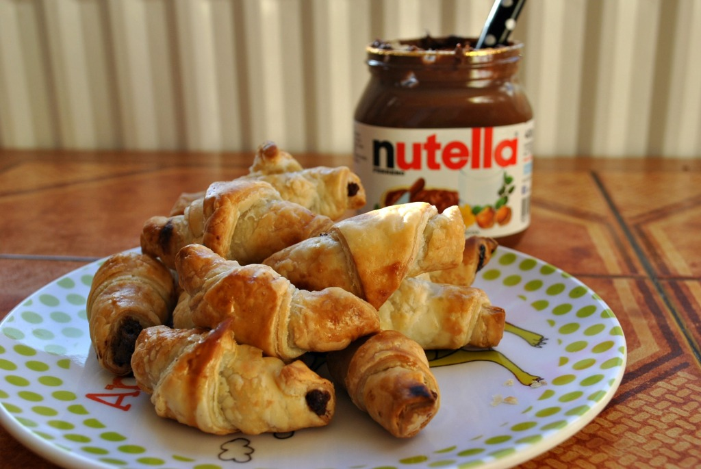 Toddler Treats: Nutella Crossiants!
