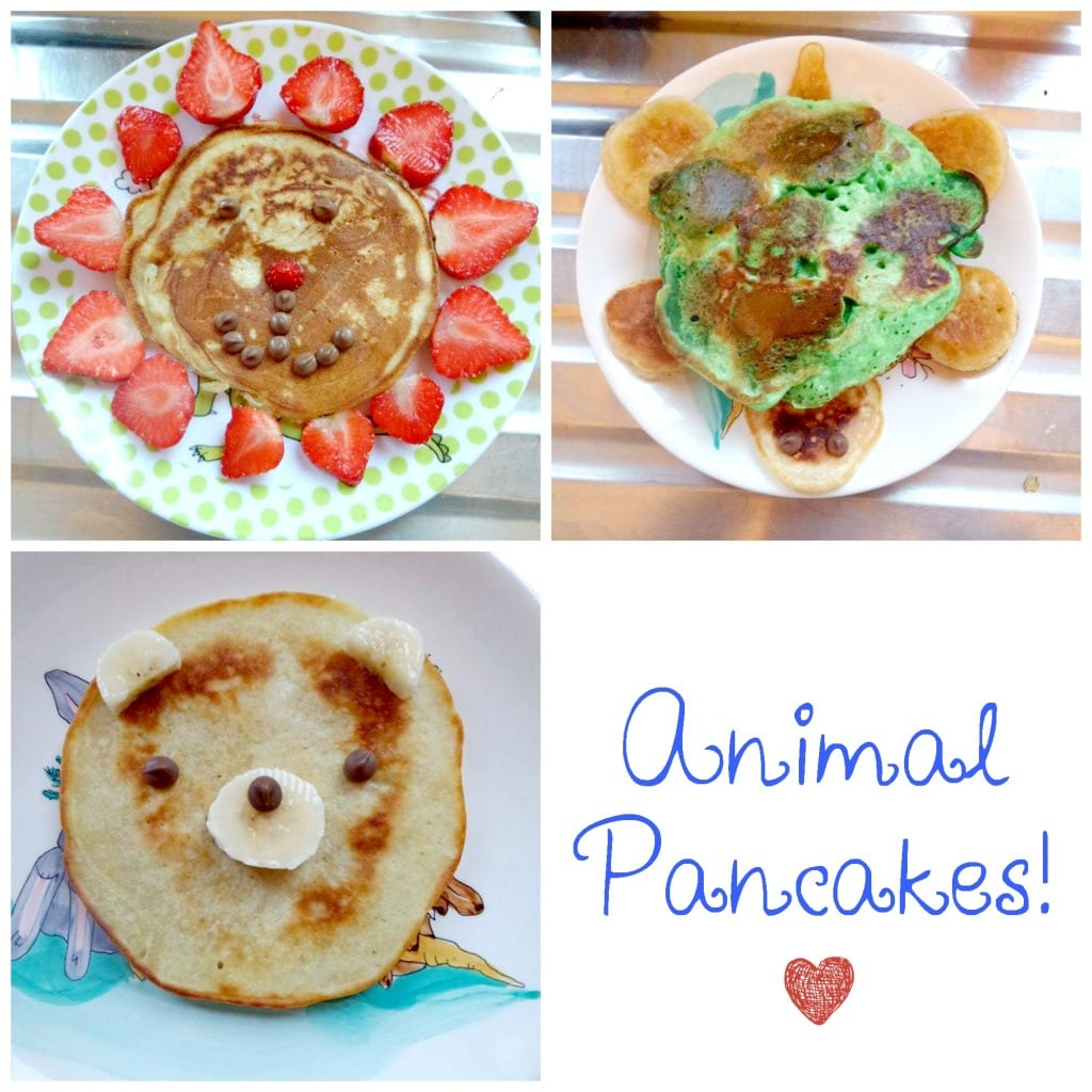 Toddler Treats: Animal Pancakes!