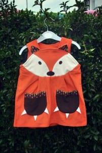 the wild things dress fox