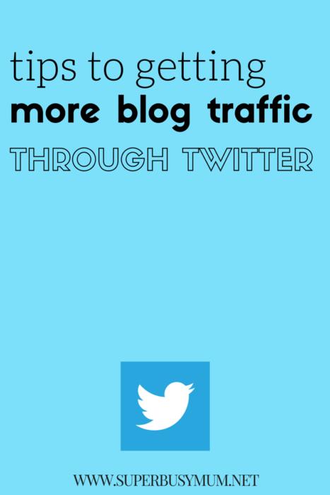 getting more blog traffic through twitter