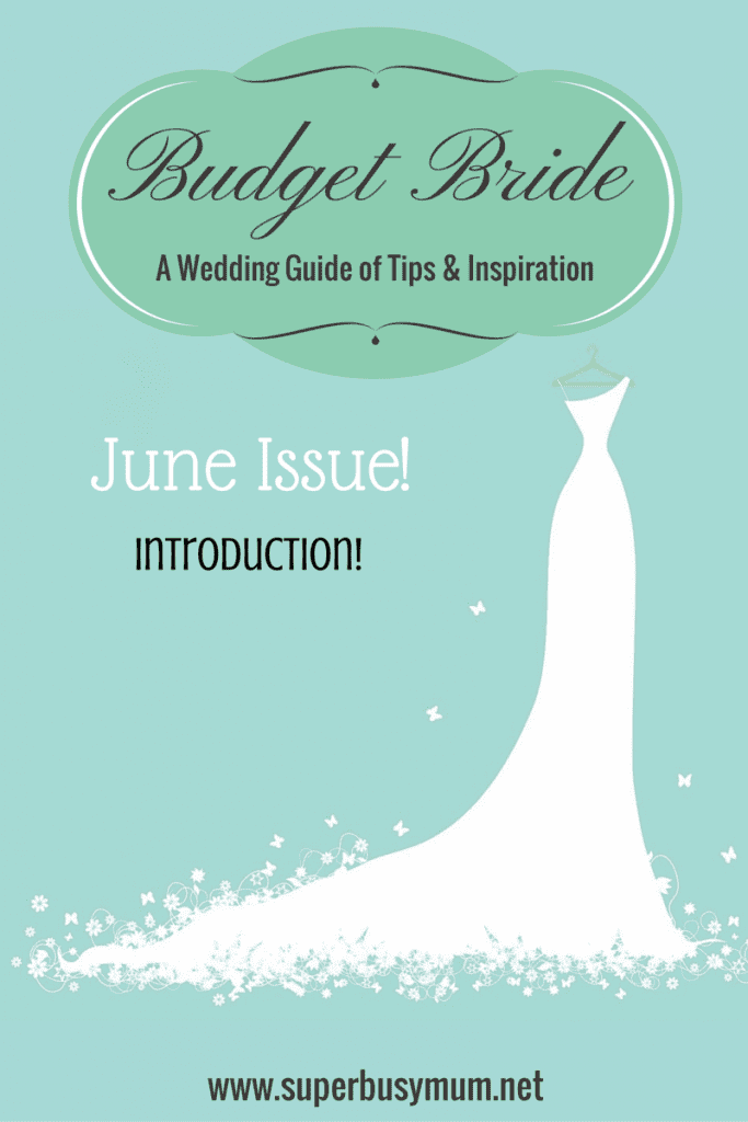 June issue budget bride