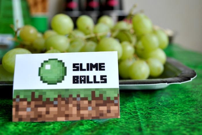 Minecraft Birthday Party! {Ellie turns 10!}