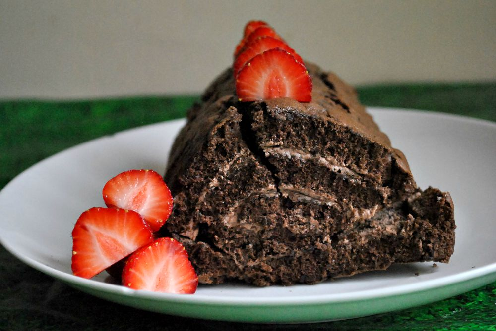 Chocolate log 2