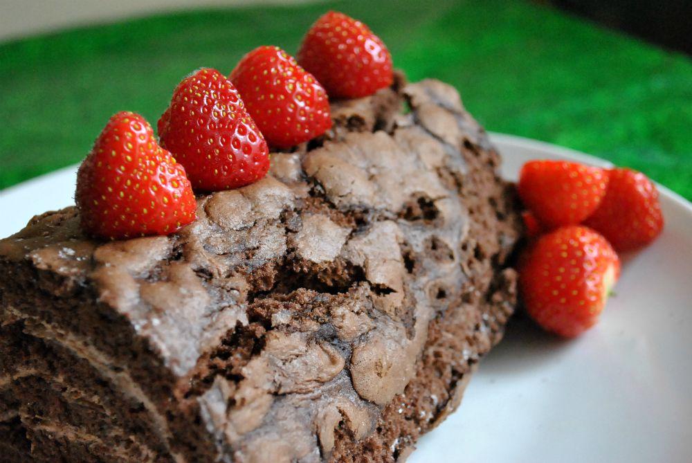 Chocolate log 5