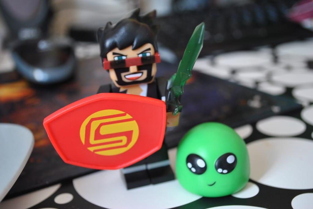 Tube Heroes: Captain Sparklez Review! – Super Busy Mum