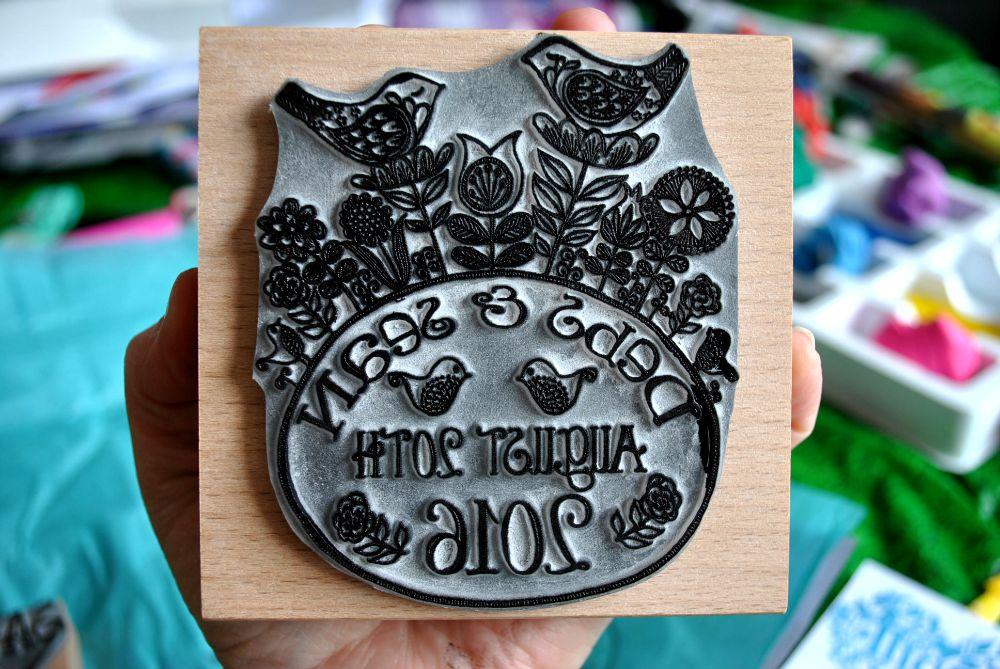 wedding stamp 3