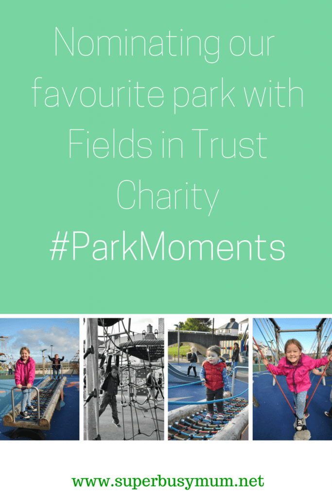 Nominating our favourite park withTrust in Fields Charity#ParkMoments