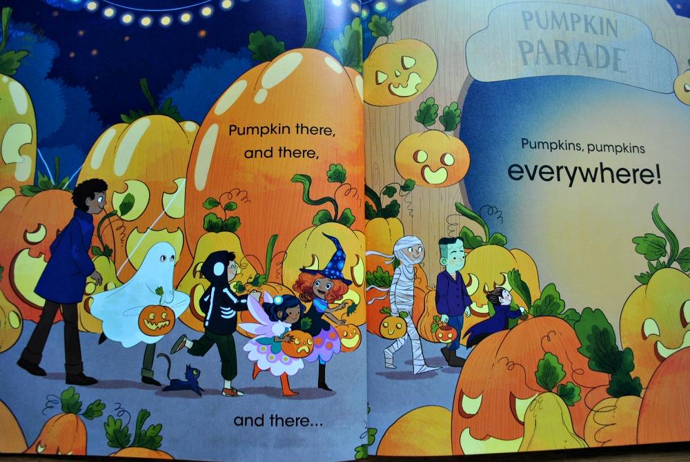 Parragon Books Pumpkins everywhere Book review