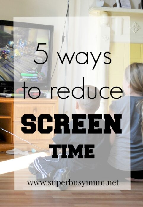 ways to reduce screen time