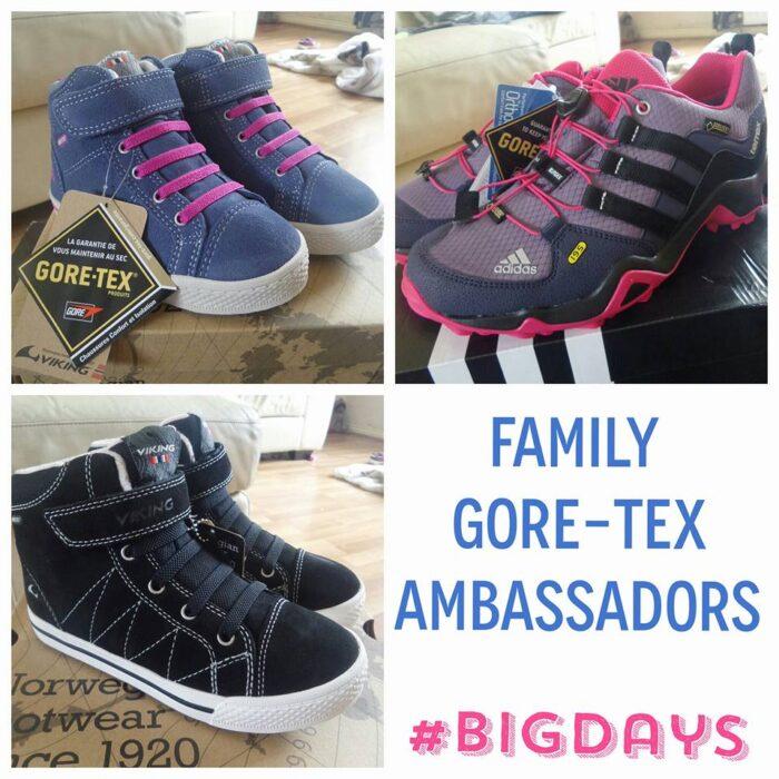 Goretex footwear