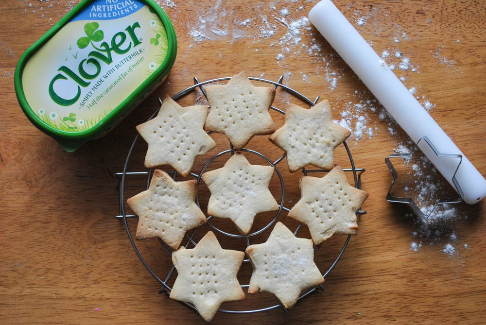 Classic shortbread with Clover
