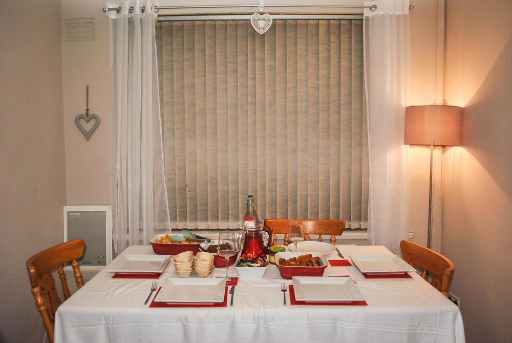 dinner party homebase