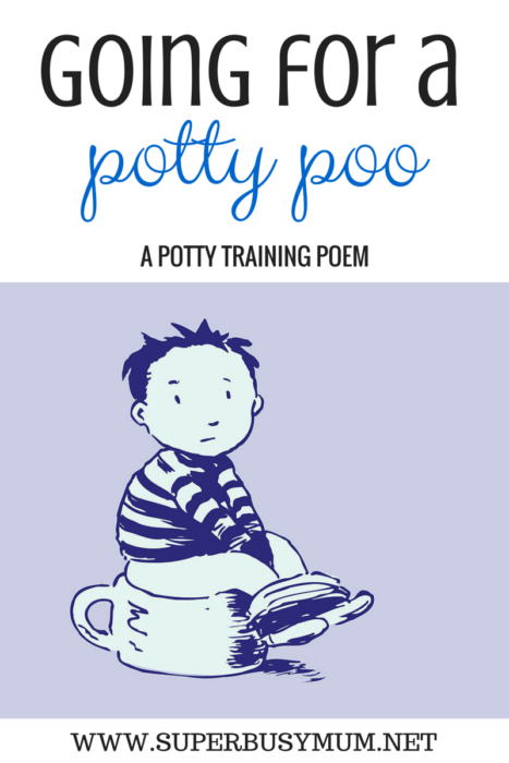 Going for a potty poo