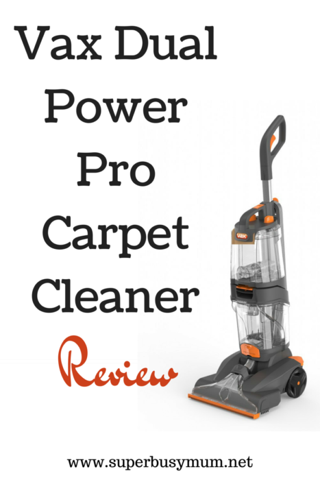 Vax V 124a Dual V Upright Carpet And Upholstery Washer