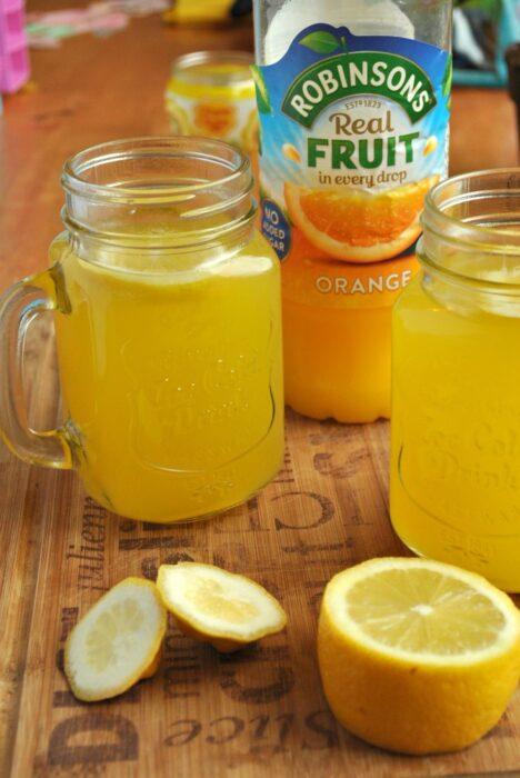Orange & Lemon Squash with Robinsons