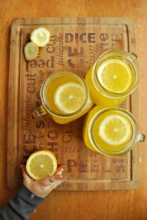 Orange and lemon robinsons