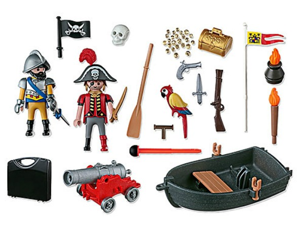 pirate carry case playmobil