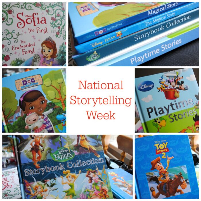 Disney - Bedtime stories - National Storytelling Week