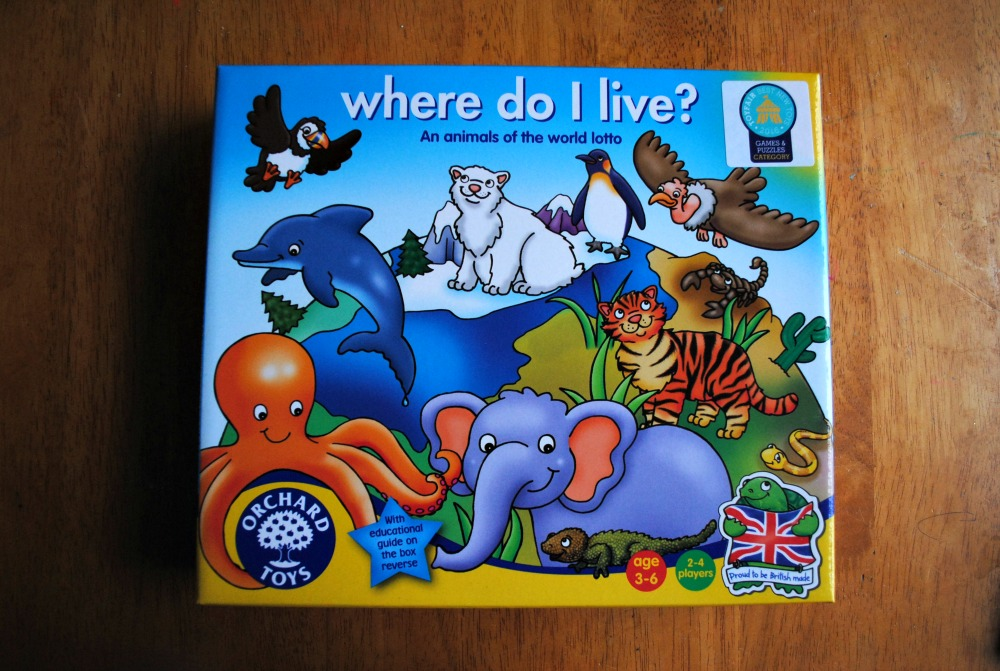 Orchard toys - Where do we live