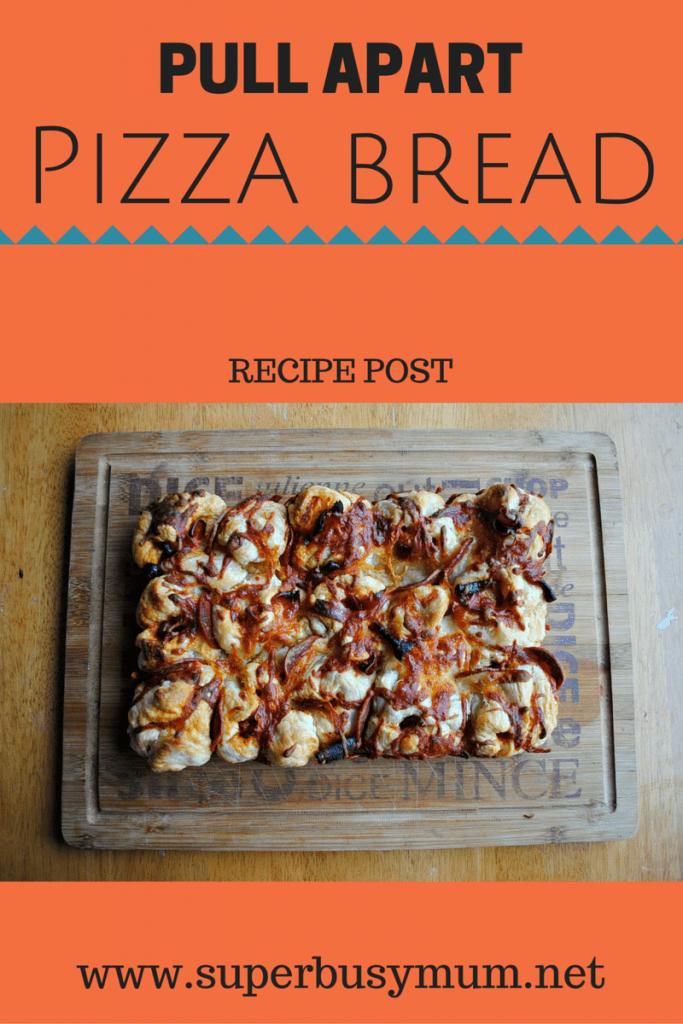 Pull apart pizza - super busy mum - recipe