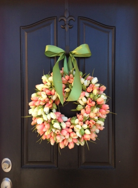 Tulips-Spring-Wreath