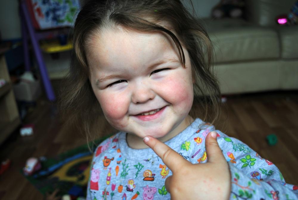 Annabelle turns 3
