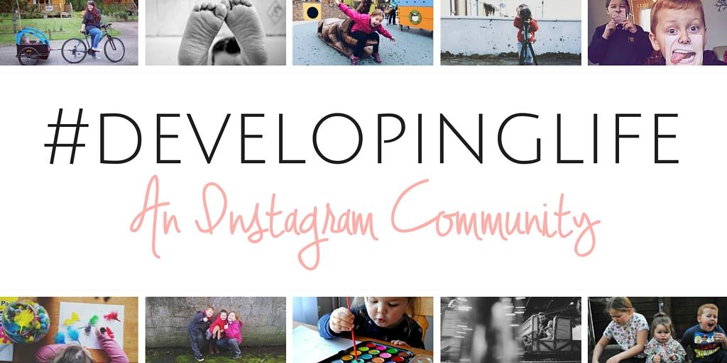 Developing life blog banner