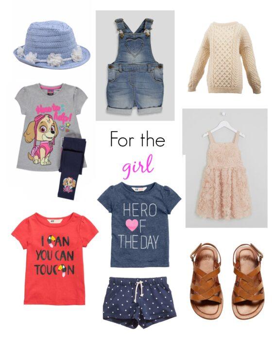 girls clothing haul