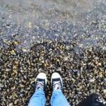 Beach Feet Shoes Water