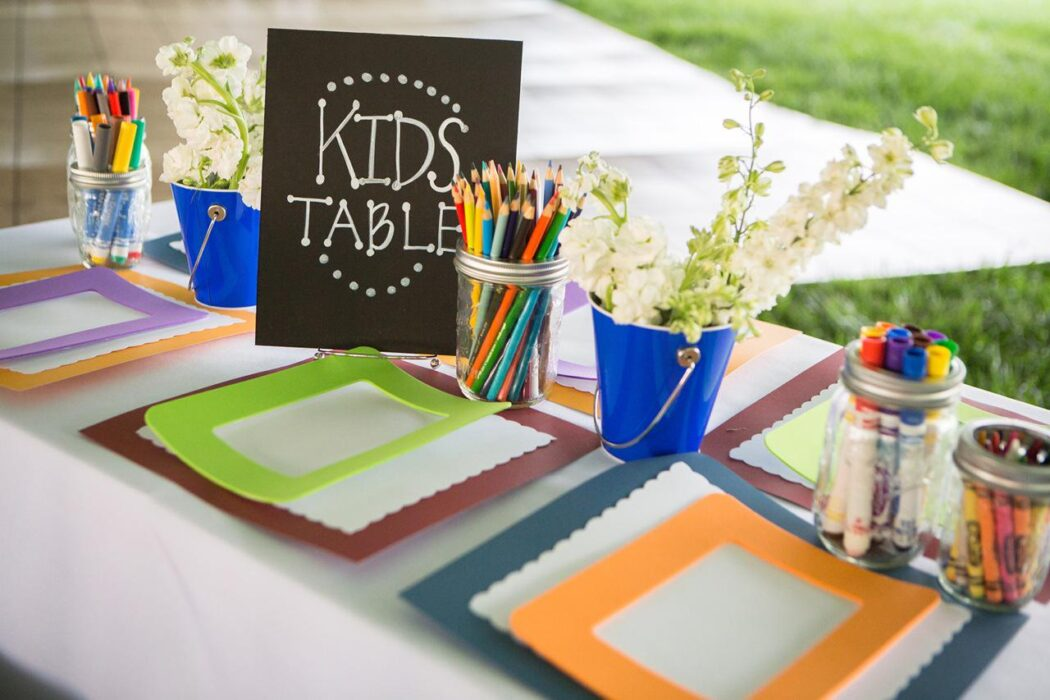 wedding ideas for kids table 10 ideas to help keep the entertained at a wedding 27842