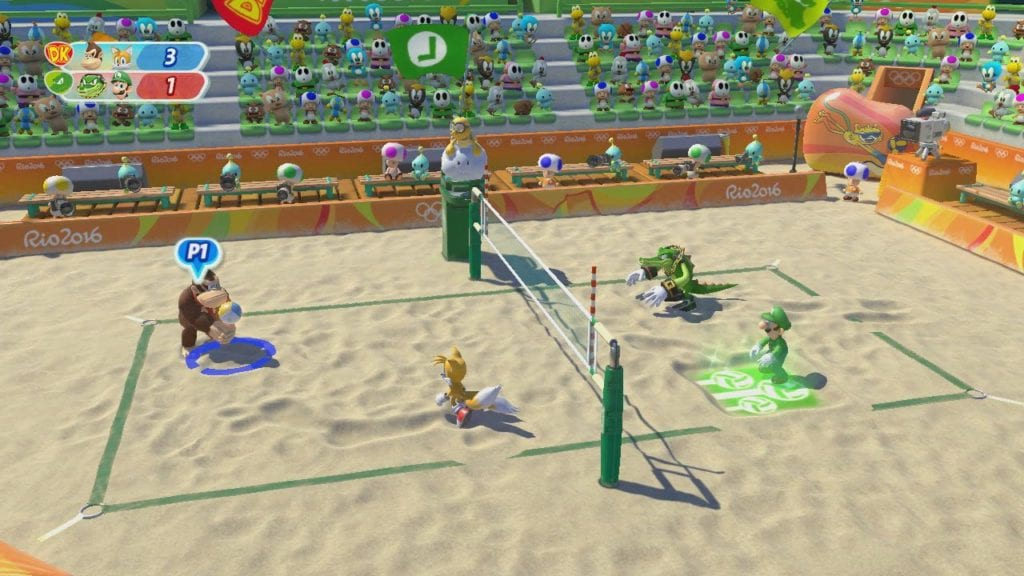 Mario and Sonic at Rio 2016