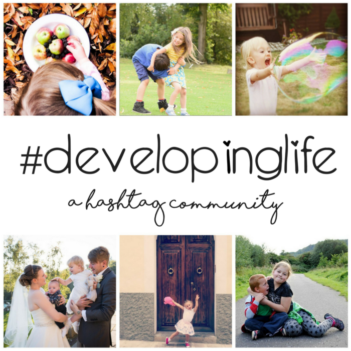 #developinglife - hashtag community
