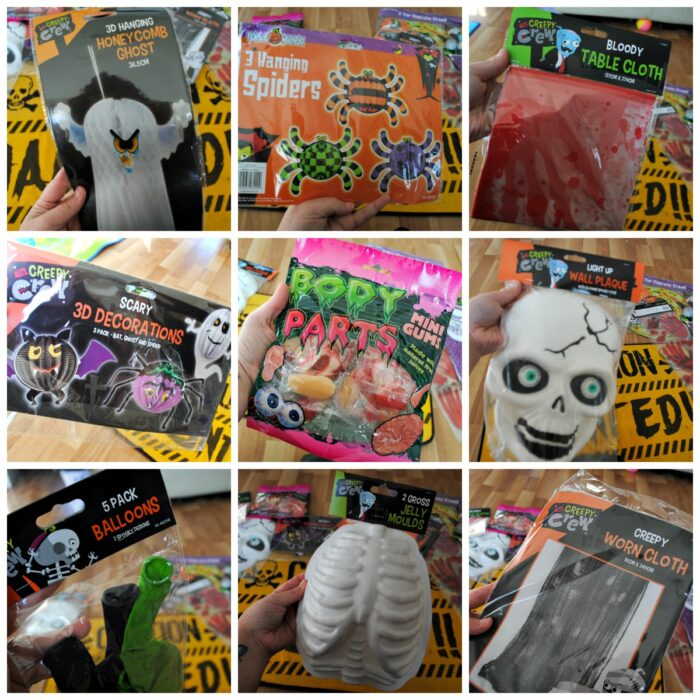 Halloween with Poundworld