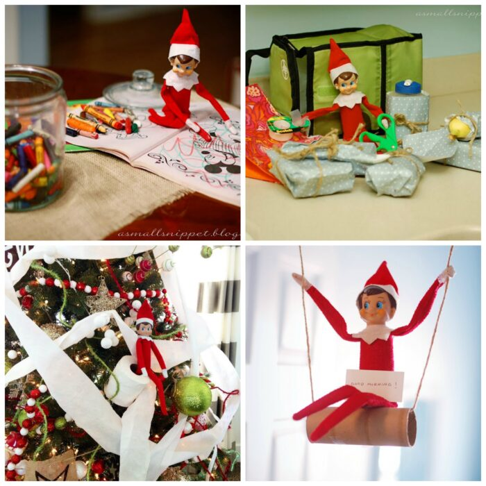 Get all of my toddler ideas here: Elf On The Shelf Ideas For Toddlers Excuses for the Elf on the Shelf who Didn't Move If you didn't use my Elf on the Shelf arrival letter which tells your kids that it's okay if the elf doesn't move overnight, then you might need some suggestions.