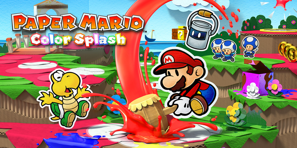 Paper Mario, Colour Splash for the Nintendo Wii U