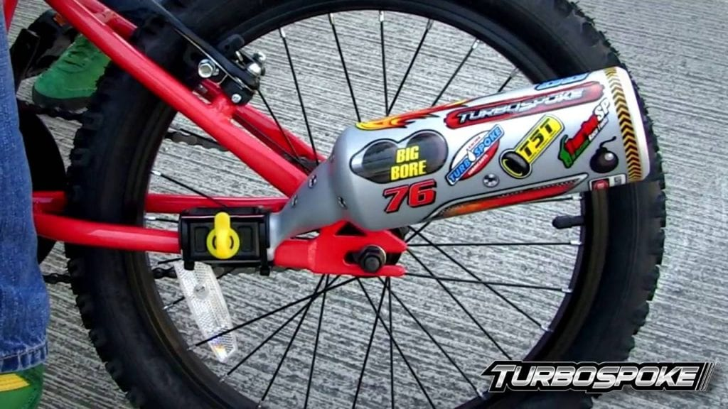 win a turbospoke bicycle exhaust system