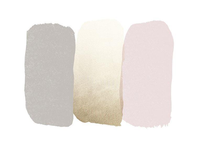 Bedroom Inspiration Grey Pink