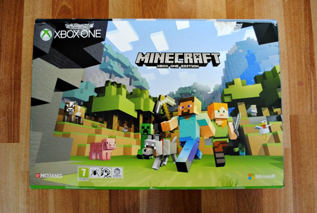First impressions of the Xbox One Minecraft bundle