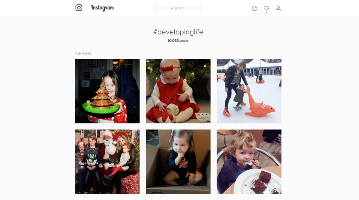 developing life instagram community