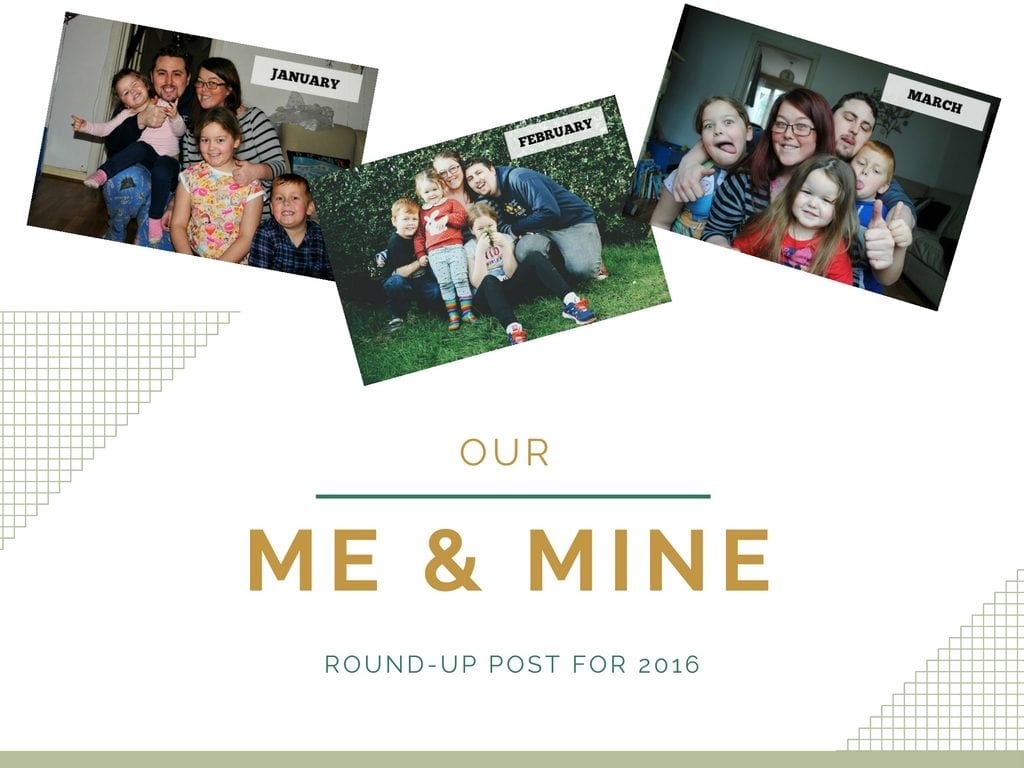 Me & Mine round-up for 2016!