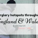 Burglary hotspots throughout