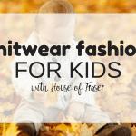 Knitwear fashion for kids