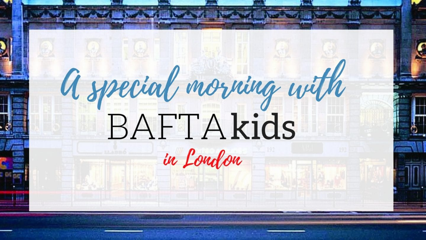 A special morning with #BAFTAkids in London