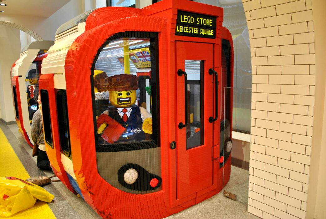Lego store, Leicester square in London