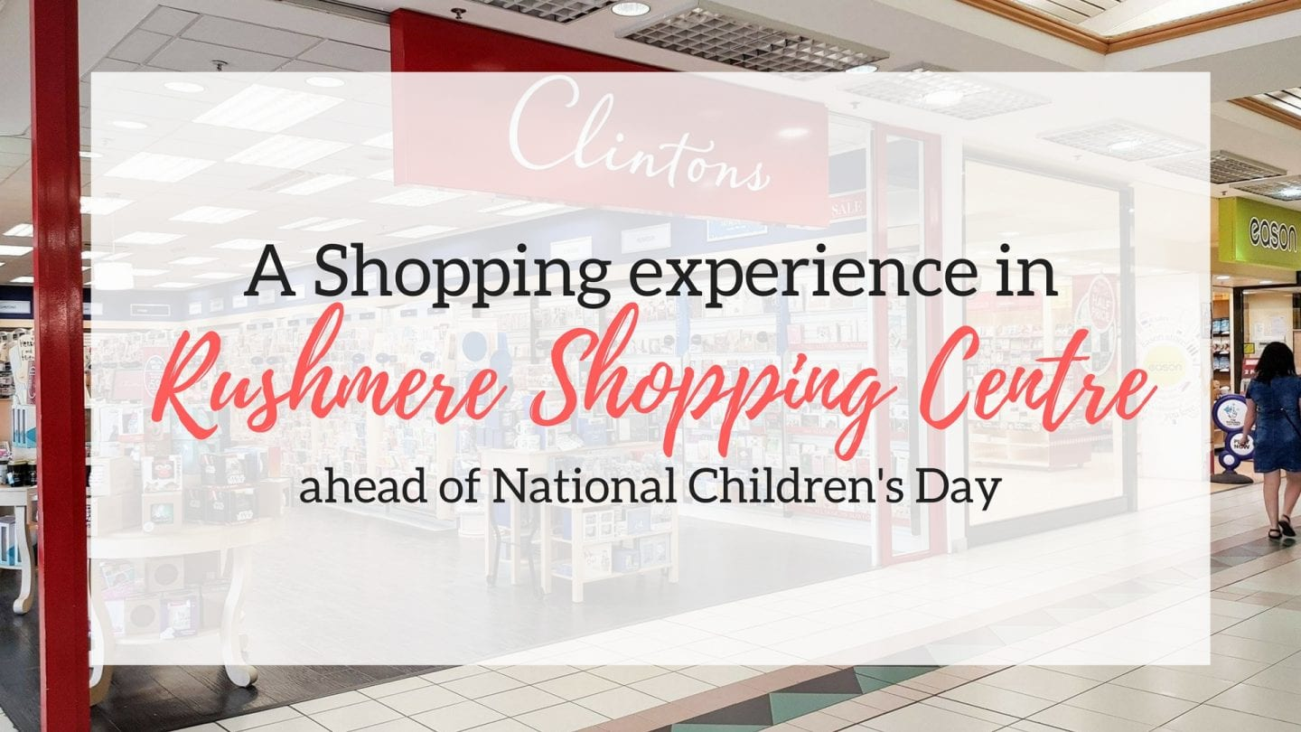 A shopping experience in Rushmere Shopping Centre ahead of National Children's Day